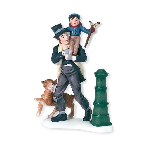 Department 56 Bob Cratchit and Tiny Tim